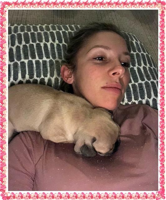 Buffy/Bingo really loves her new mom Jana