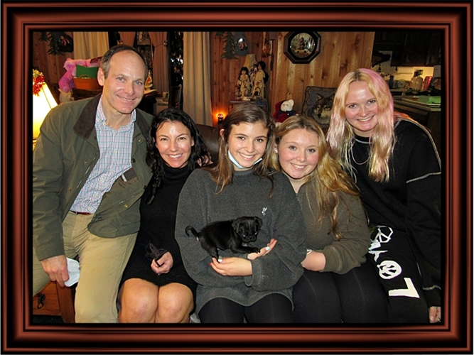 Lucy's Kirby with her new family