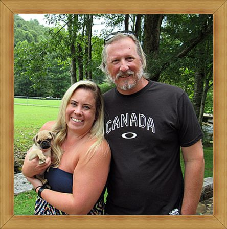 Carlton loves his new mom Ashley and new dad Craig - Fawn Pug Puppies | The one absolutely unselfish friend that man can have in this selfish world, the one that never deserts him, the one that never proves ungrateful or treacherous, is his dog.