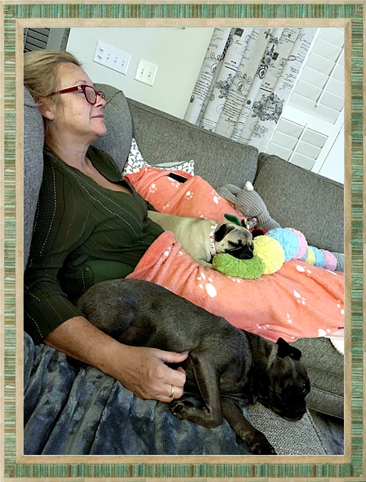 Cocoa with her new mom Kimmie and YoYo