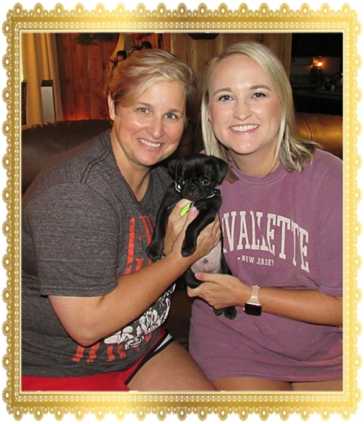 Cocoa's Elrond/Kirby with his new mom Courtney