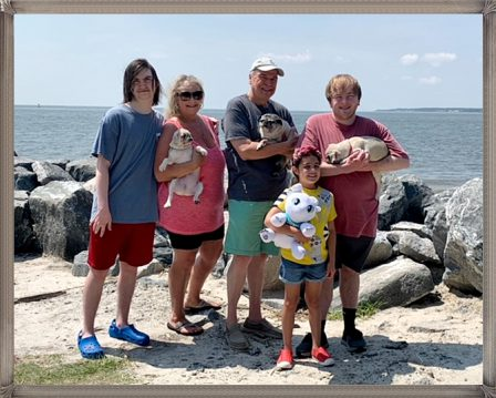 Vacation with the Luther's! - Multiple Color Pugs - Puppies and Adults   The dog is a gentleman; I hope to go to his heaven not man's.
