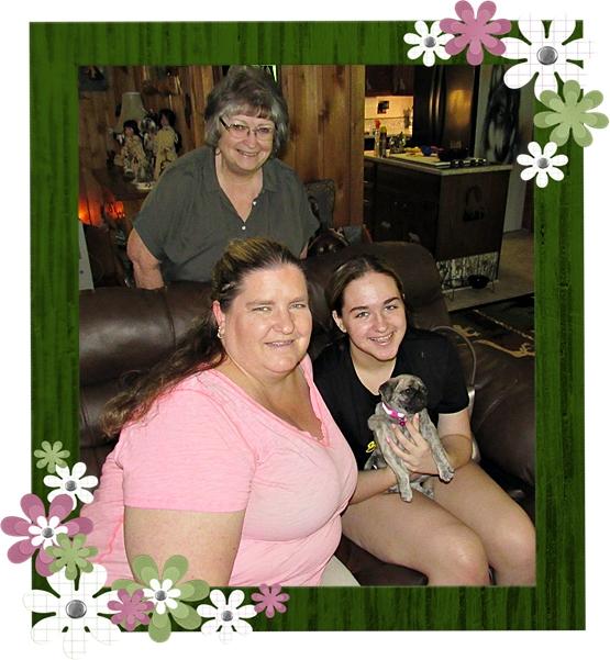 Bella's Esme and three generations – smiles all around!