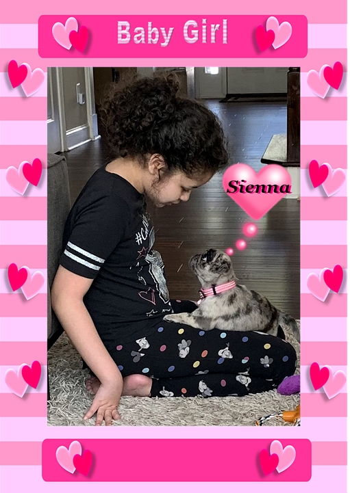 Sienna with Katara – The Look of Love!