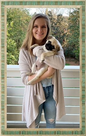 Looks like Bean is in heaven with Olivia! - Fawn Pug Puppies | Old dogs, like old shoes, are comfortable. They might be a bit out of shape and a little worn around the edges, but they fit well.