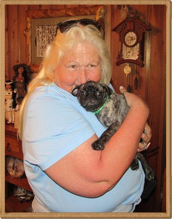 Mary Faith is loved as much as any puppy could ever be loved - Brindle Pug Puppies | Every boy who has a dog should also have a mother, so the dog can be fed regularly.