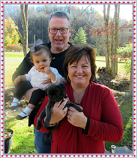Maggie's Princess Yue with her new family