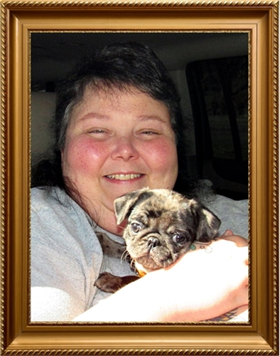 Molly's Piper with her new mom Chasity
