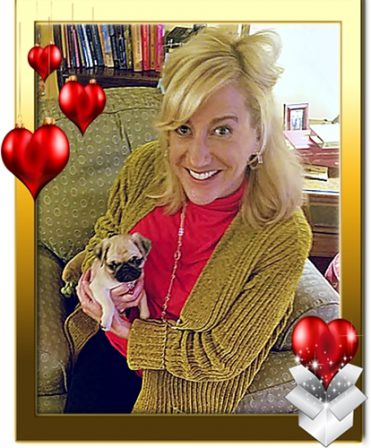 Molly's Prue/Olive  loves her new mom Susan - Fawn Pug Puppies | A dog is the only thing on earth that loves you more than you love yourself.