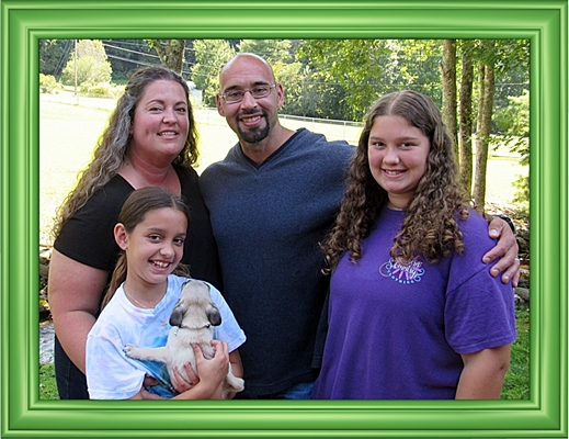 Savannah/Lonnie and her new family