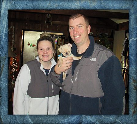 John & Stephanie came back for their second BRP puppy Shang/Champ - Multiple Color Pugs Puppies   A dog will teach you unconditional love, if you can have that in your life, things won't be too bad.
