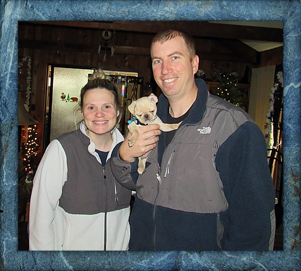 John & Stephanie came back for their second BRP puppy Shang/Champ