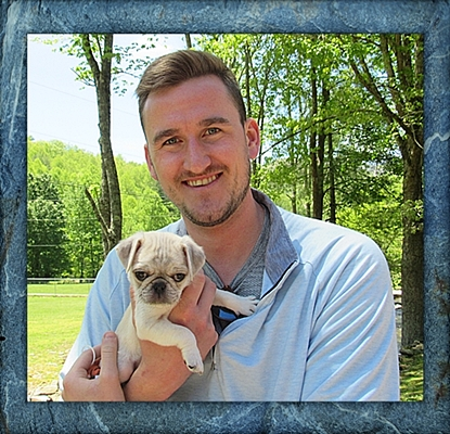 Two handsome dudes - Stetson and Alex - Multiple Color Pugs Puppies | The one absolutely unselfish friend that man can have in this selfish world, the one that never deserts him, the one that never proves ungrateful or treacherous, is his dog.