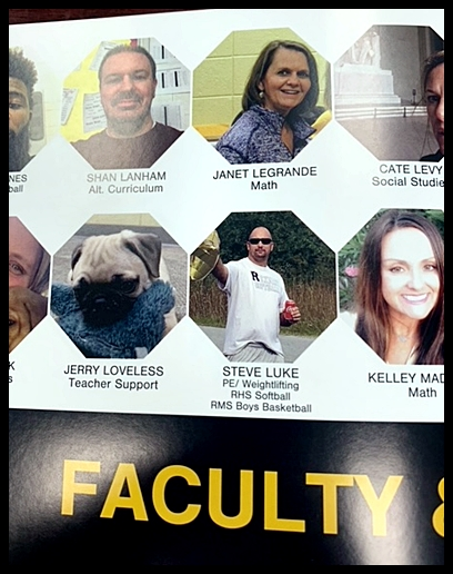 Bai-Lei's Tucker/Jerry made it into the yearbook!