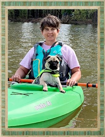 Tucker/Jerry on his first camping trip and he's loving it! - Fawn Pug Puppies | There is no psychiatrist in the world like a puppy licking your face.