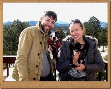 Xanadu's new mom and dad in CO 2015 - Brindle Pug Puppies | The dog was created specially for children. He is the god of frolic.