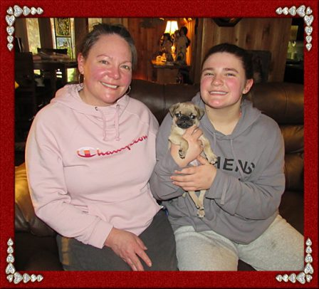 Yao has made two lovely ladies very happy! - Fawn Pug Puppies   If dogs could talk, perhaps we would find it as hard to get along with them as we do with people.